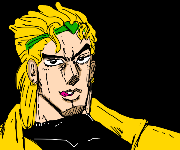 DIO with dat look in his eyes