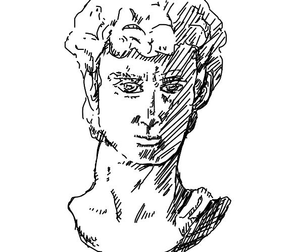 sculpture bust