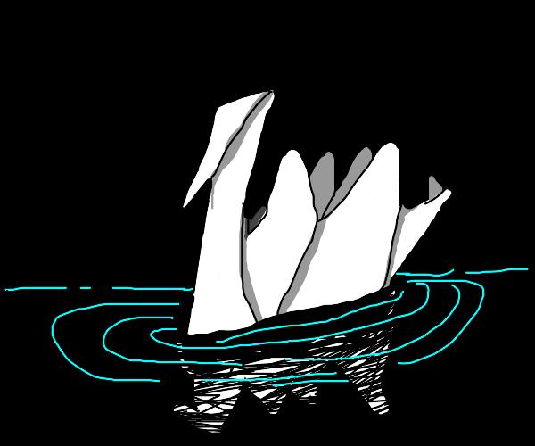 Oragami Swan