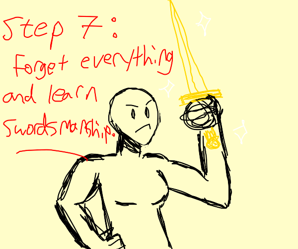 Step 6: Follow up on whatever Step 4 was