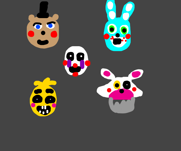 The toy animatronics, but without Balloon Boy