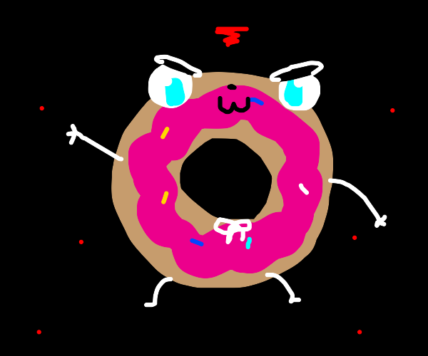 Jelly filled donut cant do anime says girl