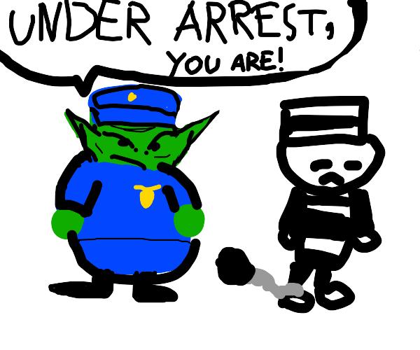Yoda Police Officer