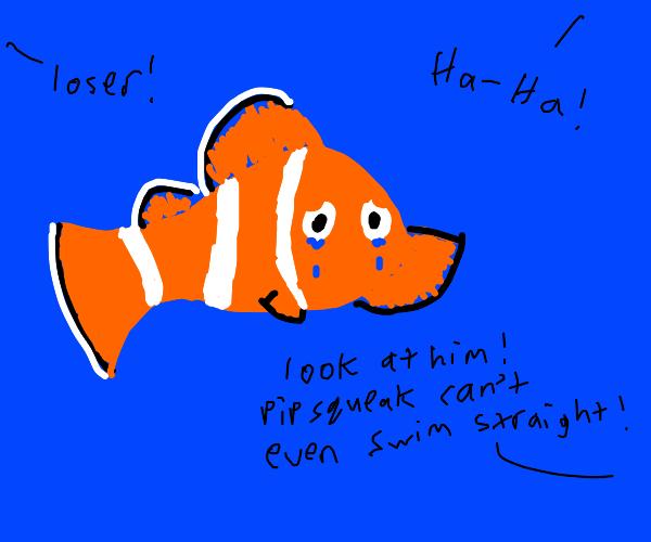 clownfish bullying