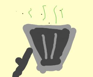 smelly trash