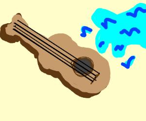 gettin my guitar wet