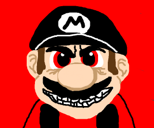 Mario, the first Dark Lord