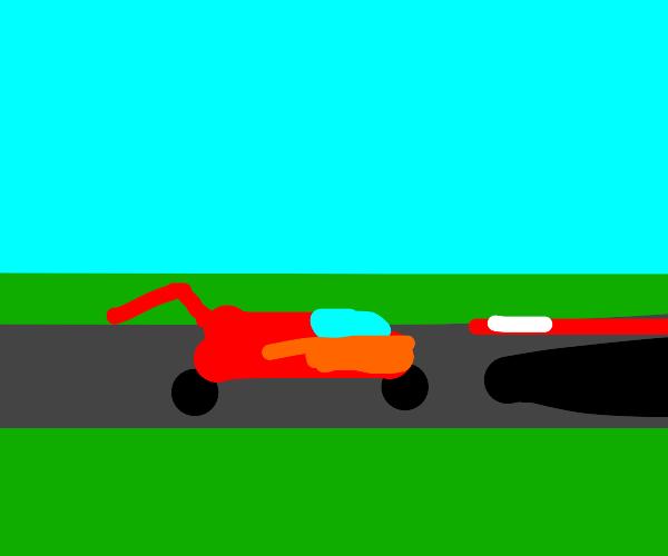 NASCAR racecar
