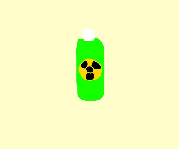 Radioactive shampoo