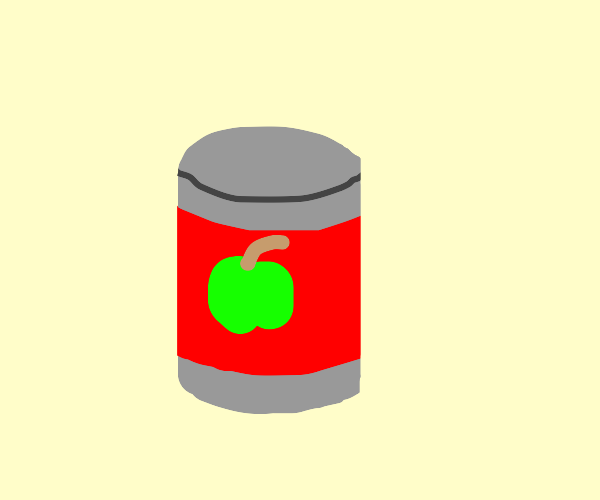 can of fruit