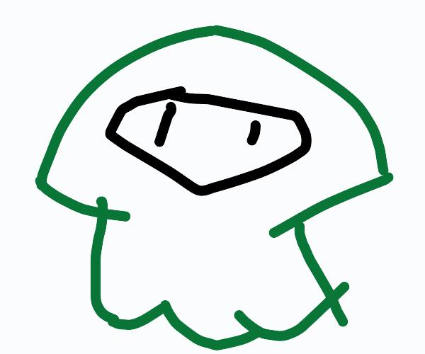 green squid splatoon