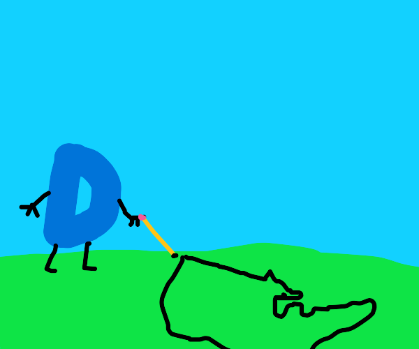 drawception drawing on the grass