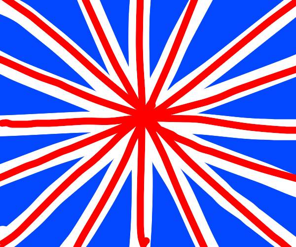 British flag plus some