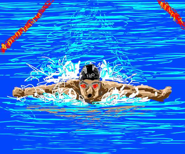 Olympic swimmer