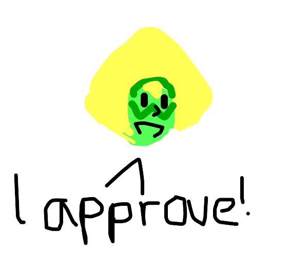 peridot approves!