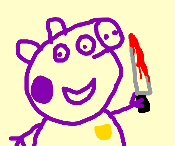 Peppa Pig is the man behind the slaughter