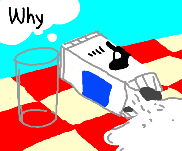 Milk questions its existence