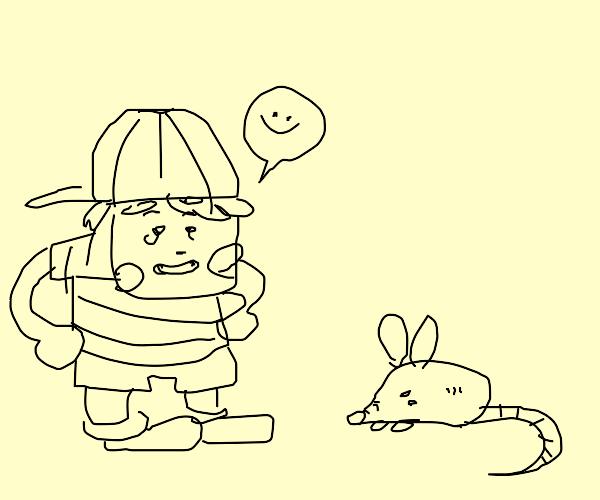 Ness likes rats