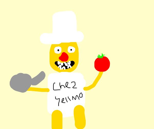 Chef yellow Elmo.