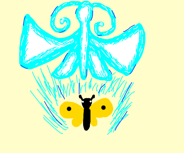 Butterfly mastered astral projection