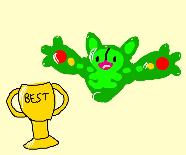 trophe for best pokemon