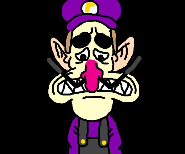 WaLuigi is sad :(