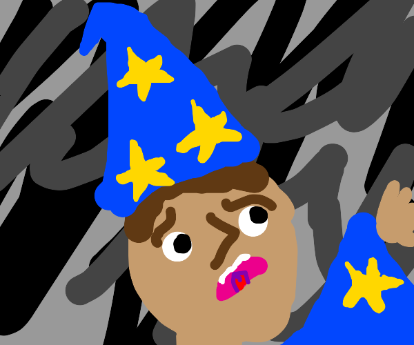 Distressed wizard