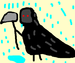 soaking wet reaper of death