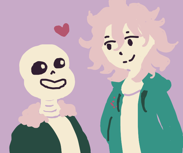sans and komaeda are in love