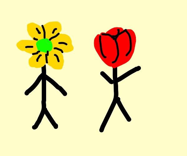 flower men