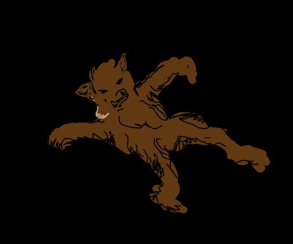 werewolf in space
