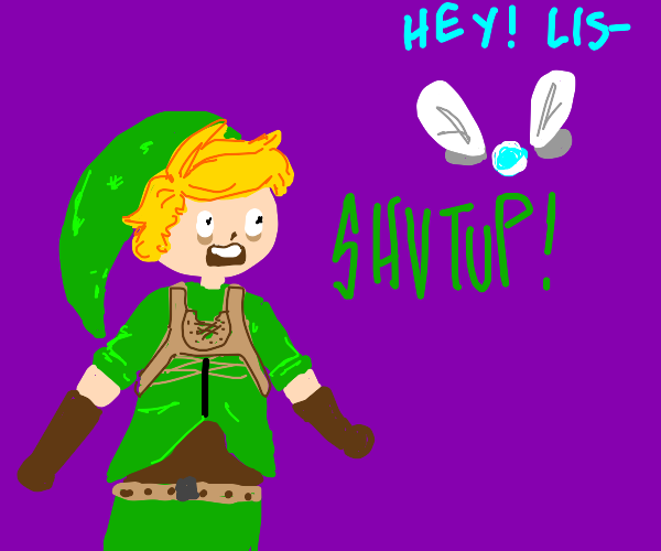 Link hates Navi