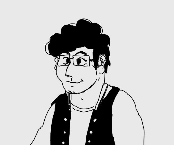 very handsome man ( detailed portrait )