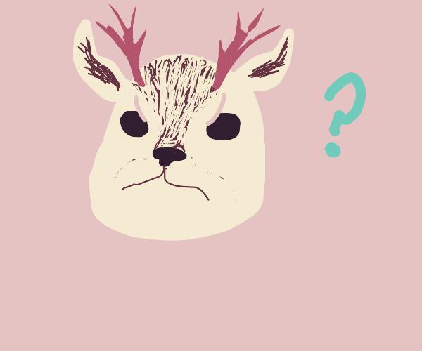 Confused jackalope