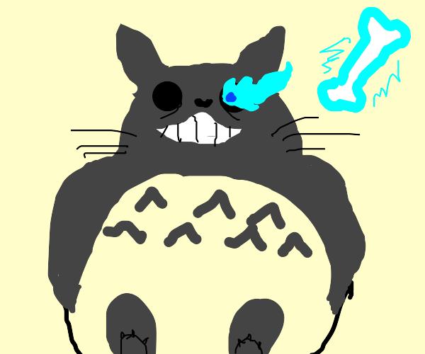 Totoro is sans