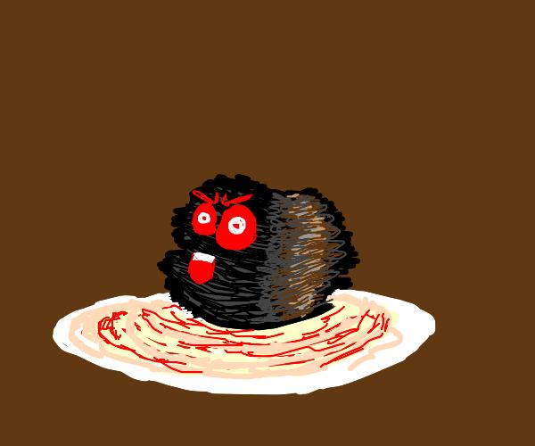Evil Dark Meatball