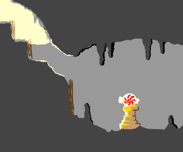 Candy in a Cavern