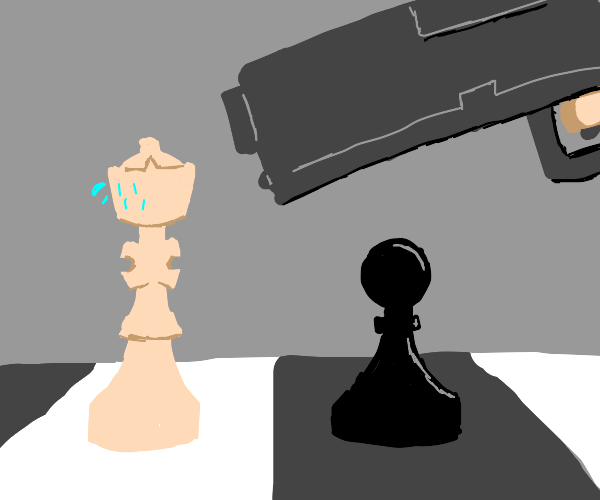 an intense game of chess