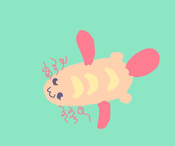 Cute Sourdough Axolotl