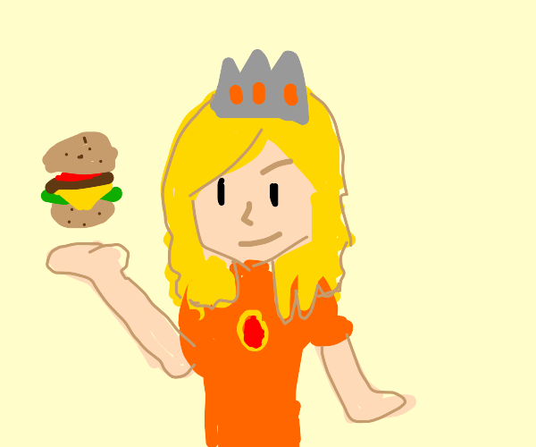 BECOME THE BURGER QUEEN OR IT WILL BECOME YOU