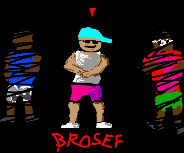 Bro select screen