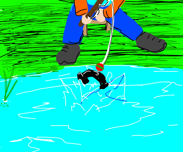 Fishing telephone