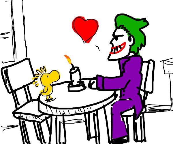 Woodstock and Joker start dating