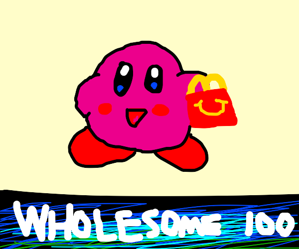 Kirby buys some McDonald's (Wholesome)