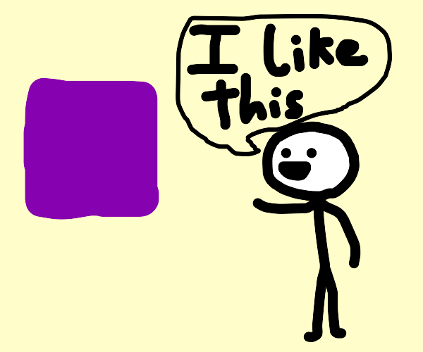 Guy that likes purple