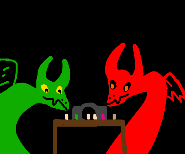 imps playing D&D