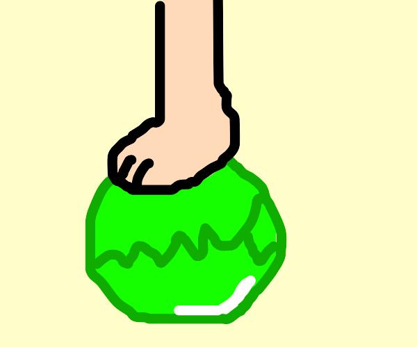Foot lettuce