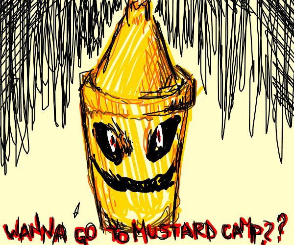 mustard demon invites you to mustard camp