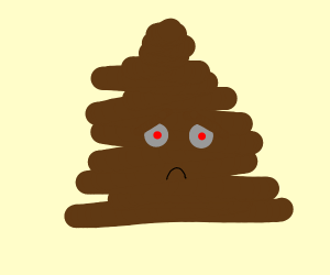 concerned piece of poop