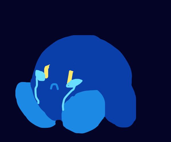 Dark kirby cries